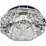 Светильник потолочный, JCD9 35W G9 с прозрачным стеклом, хром, JD90
