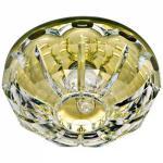 Светильник потолочный, JCD9 35W G9 с прозрачным стеклом, желтый, JD180