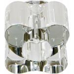 Светильник потолочный, JC G4 с прозрачным стеклом, хром, C1061