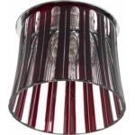 Светильник потолочный, JCD9 G9 с красным стеклом, с лампой, CD2318