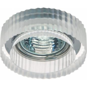 Светильник потолочный, JCD9 35W G9 прозрачный,хром, JD157