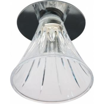 Светильник потолочный, JCD9 35W G9 прозрачный,хром, JD167