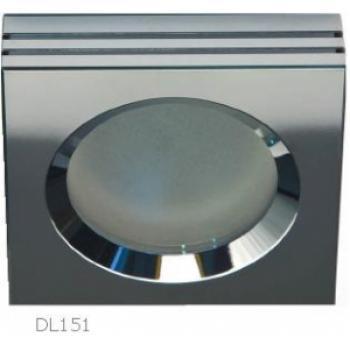 Светильник потолочный, MR16 50W G5,3 матовый хром, алюминий, DL151