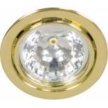 Светильник мебельный, JC G4.0 золото, с лампой, DL3