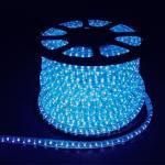 Дюралайт (световая нить) со светодиодами, 5W 50м 230V 144LED/м 11х30мм, синий, LED-F5W
