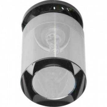 Светильник потолочный, JCD9 50W с прозрачным стеклом, круглый,хром ,JD151