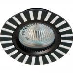 Светильник потолочный, MR16 G5.3 черный, GS-M364BK