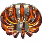 Светильник потолочный,JCD9 35W G9 коричневый,прозрачный (с лампой), CD2529