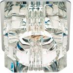 Светильник потолочный, JCD9 35W G9 с прозрачным стеклом, хром, JD61