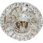 Светильник встраиваемый со светодиодной RGB подсветкой 2.5W JCD9 35 W 230V/50Hz G9, прозрачный, прозрачный, JD125