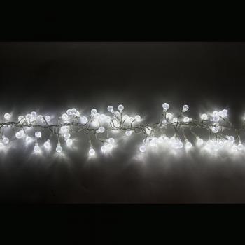 Гирлянда 220-240V, 192 LED (белый 6400К), расстояние м/у LED 7 см, 1,4м + 1,5м шнур, IP44, CL60