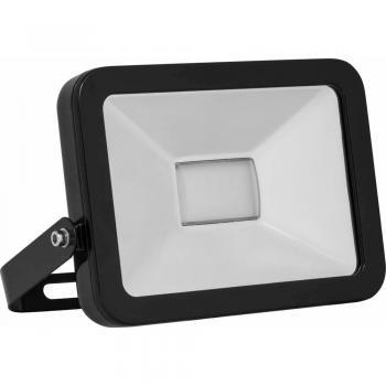 Прожектор светодиодный I-SPOT 30*2835 SMD LED 30W 2400LM 5700K 230V/50Hz 230*185*30 mm, с кабелем длиной 30 см, черный LL-848