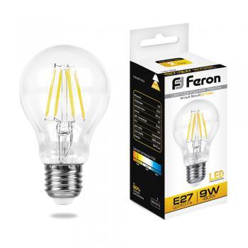 Лампа светодиодная, (9W) 230V E27 2700K, LB-63