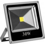 Прожектор квадратный, 1LED/30W-белый 230V 6400K серый (IP65) 235*225*60mm, LL-273