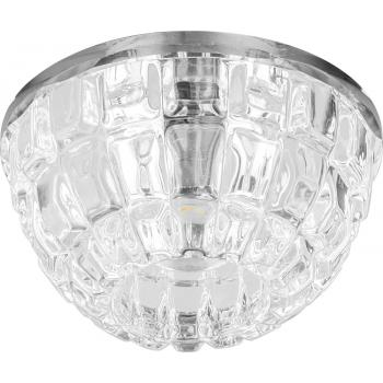 Светильник потолочный 10W 220V/50Hz 600Lm 3000K прозрачный, прозрачный, JD68