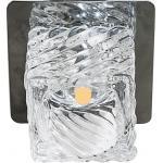 Светильник встраиваемый светодиодный Feron BS 125-FB потолочный 10W 3000K прозрачный хром