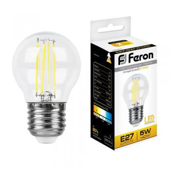 Лампа светодиодная, (5W) 230V E27 2700K, LB-61