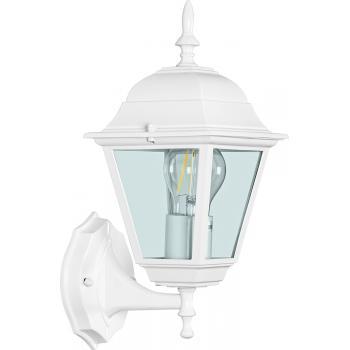 Светильник садово-парковый, 100W 230V E27 белый, 4201