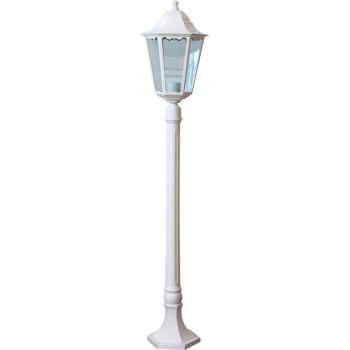 Светильник садово-парковый, 100W 230V E27 белый, 6210