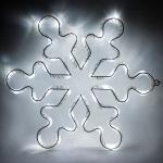 Световая фигура 4,5V 15 LED, белый цвет свечения, батарейки 3*АА IP20, 33*33 см, LT053