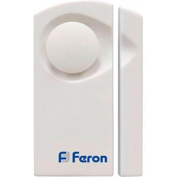 Звонок дверной беспроводной/сигнализация, 2*1.5V/AA (1 мелодия) белый, 007-D