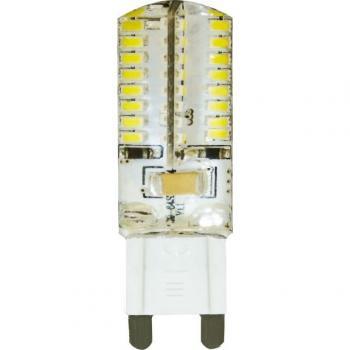 Лампа светодиодная, (4W) 230V G9 6400K, LB-421
