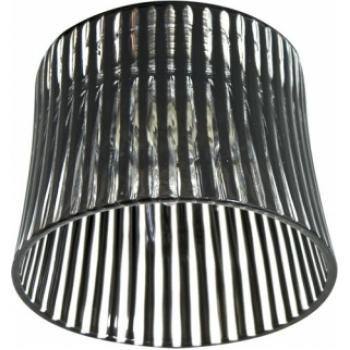 Светильник потолочный, JCD9 35W G9 с черным стеклом, с лампой, CD2319
