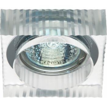Светильник потолочный, JCD9 35W G9 прозрачный,хром, JD158
