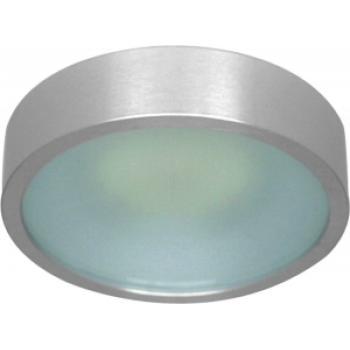 Светильник потолочный, MR16 G5.3 с матовым стеклом, алюминий, DL207S