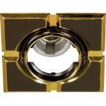 Светильник потолочный, MR16 G5.3 черный-золото, 098T-MR16-S