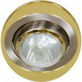 Светильник потолочный, MR16 G5.3 титан-золото, 108Т-MR16