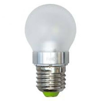 Лампа светодиодная, 6LED(3.5W) 230V E27 4000K матовая, LB-40