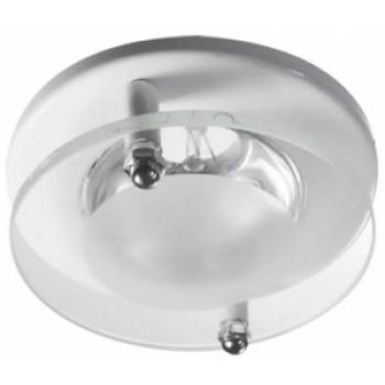 Светильник потолочный, 1787 R50 60W Е14 C/C круг белый с/м