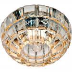 Светильник потолочный, JCD9 35W G9 с прозрачным стеклом, золото, JD87
