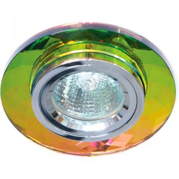 Светильник потолочный, MR16 G5.3 желтый + золото, 8050-2