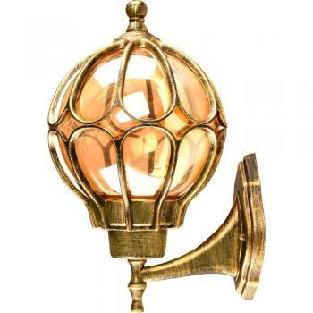 Светильник садово-парковый, 60W 230V E27 IP44 черное золото, PL3801