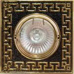 Светильник потолочный, MR16 G5.3 серебро-золото, DL2008S