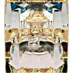 Светильник потолочный, JCD9 35W G9 с прозрачным стеклом, хром, JD62