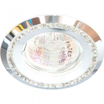 Светильник потолочный MR16 MAX50W 12V G5.3, прозрачный,золото,DL103-C