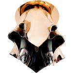 Светильник потолочный, JCD9 40W G9 с золотым стеклом, золото, CD2213