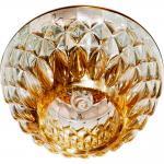 Светильник потолочный JCD9 Max35W G9 прозрачный, золото, JD187