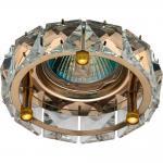 Светильник потолочный, MR16 50W G5,3, прозрачный, хром, CD4525