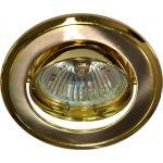 Светильник потолочный, MR16 G5.3 титан-золото, 301T-MR16