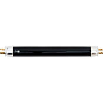 Лампа люминесцентная с черной колбой, 4W T5 G5, FLU10