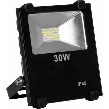 Прожектор светодиодный 2835 SMD 30W 3000LM 6400K AC220V/50Hz 175*155*55mm IP65, черный, LL-850