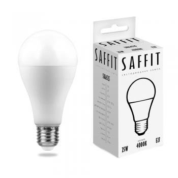 Лампа светодиодная SAFFIT SBA6525 Шар E27 25W 4000K