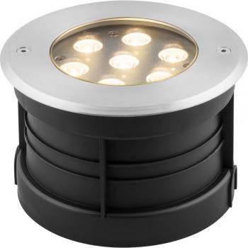 Тротуарный светодиодный светильник ЛЮКС, 7W RGB AC230V D160*H110мм IP67,SP4314 , артикул 32070