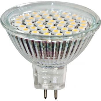 Лампа светодиодная, 44LED(3W) 230V GU10 3300K 44*50mm, LB-24