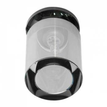 Светильник потолочный, JCD9 50W с черным стеклом,черный , JD151