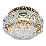 Светильник декоративный JD90 , JCD9 35W G9 прозрачный, золото